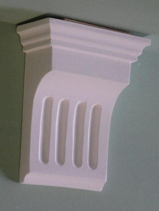 Corbel BW09 Small Fluted Corbel