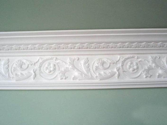 Cove CW17 Acanthus Frieze Cornice