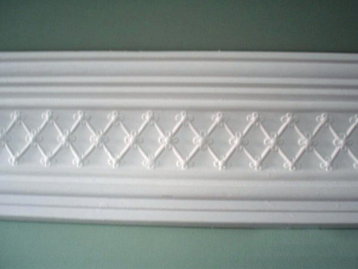 Cove CW20 Plain Criss Cross Cornice